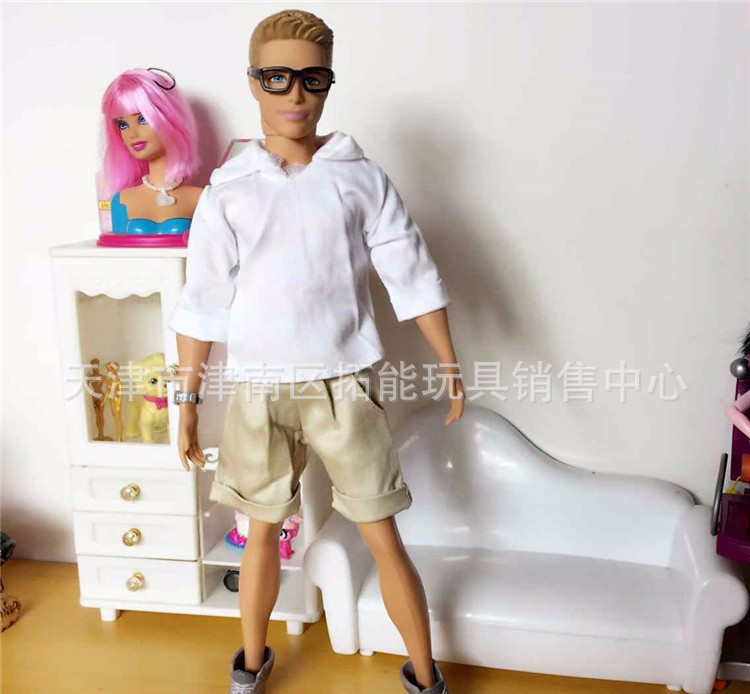 Free Delivery,5sets Dolls Clothes Units for Barbie Ken,Garments For Boyfriend Barbie Doll, Boy Good Items Finest Promoting Wholesale
