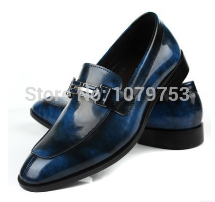 2014 spring and autumn fashion men's personality trend head layer cowhide leather rubbing a men's dress shoes business men shoes