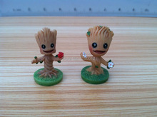 Free Shipping 3.0CM Mini Cute Groot Model Guardians Of The Galaxy Action Figures For Collection Gift Unisex Toys