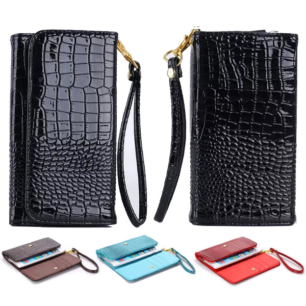 Fashion Women Money Card Carry Bags Zipper Purse Pouch Leather Wallet Case for HTC Desire S G12 S510e/SV T326e/ U T327w BH351(China (Mainland))
