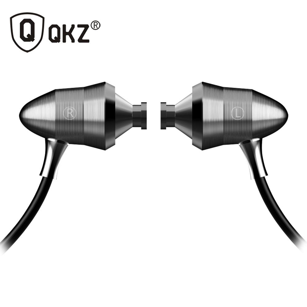 Original QKZ X6 Super Bass Headphones Professional Monitoring Headphones HIFI Headsets DJ Earphones Universal 3 5MM