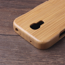 wood case For Samsung Galaxy S4 MINI i9190 / i9192 / i9195 / i9198 bomboo wooden phone case back cover Fundas Shell(China (Mainland))