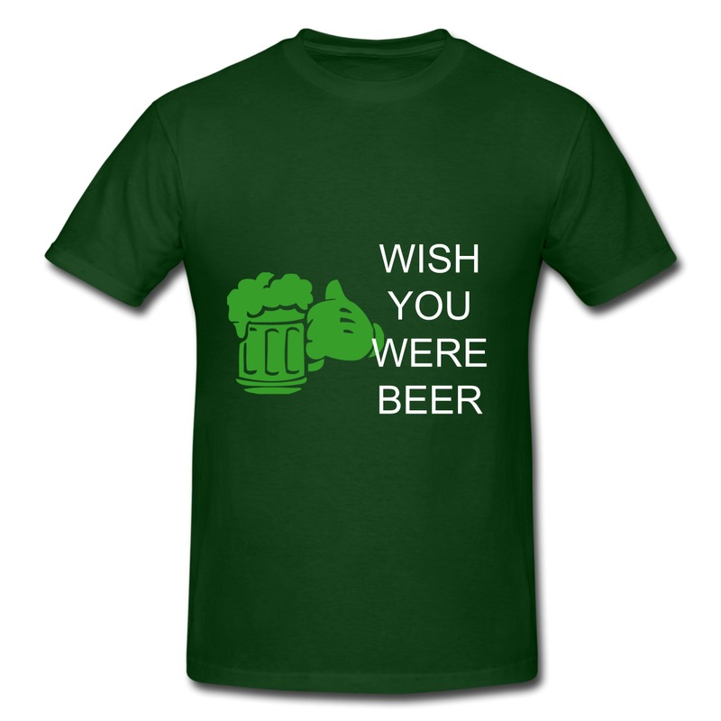 New Arrival Custom Short Sleeve T Shirt I Love Beer Create Your Own T Shirts Slim Fit Sale(China (Mainland))