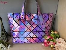 2016 New Bao bao women pearl bag Diamond Lattice Tote geometry Quilted shoulder bag sac bags handbags women famous brands LOGO