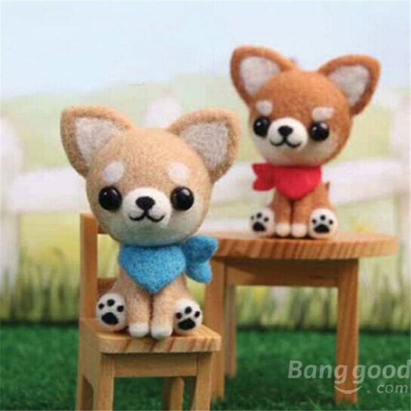Cute Poke Poke Fun DIY Dog DIY Plush Phone Chain Dog Plush Toys For Children Small Pendant For Mobile Chain Doll(China (Mainland))