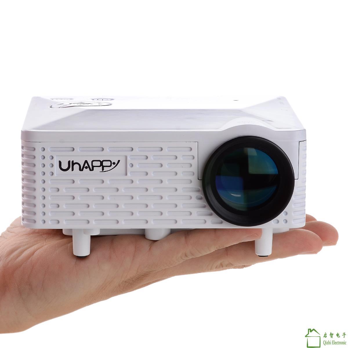 Portable Exhibition Quiz : Hd mini led video projector game xbox tv data show