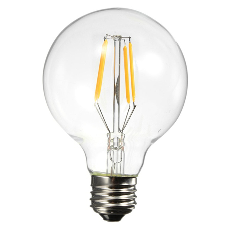 New Design Filament Edison LED Bulb E27 220V Warm White 360 Degree COB Lamp(China (Mainland))