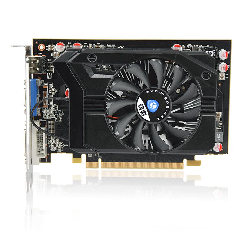 Darker R7 350 gaming video card Radeon R7 350 2G DDR5 gaming graphics card DirectX12 512SP noiseless radiator 3 years warranty