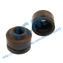 Valve Oil Seal GY6 50 125 150 Common Use Universal General Engine Part Scooter Moped YF-GY6QM (3 pairs)