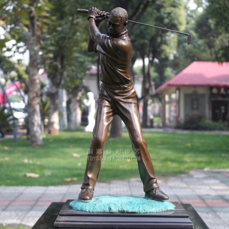 28+ [ golf statues home decorating ] | metal golfer indoor outdoor