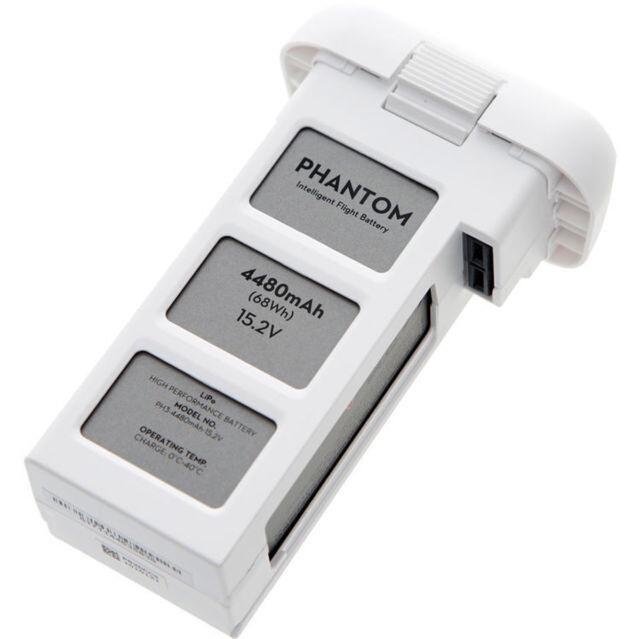 Высокой эффективности рейса Аккумулятор для Phantom 3 оригинальных интеллектуальных Джи фантомное 3 батареи 15.2 V и 4480mAh - 23 минуты летного времени