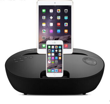 RSR DS415 Bluetooth Speaker Dock Station for iphone 4s/6s ipad Samsung Sony lg Nokia htc FM Remote Control .Alarm Clock(China (Mainland))