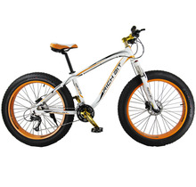 New Aluminum Alloy Orange Tire Shiman0 27 Gears Cruiser Mountain Bike Snow Road Bicycle  Double Layouts Aluminum Rim
