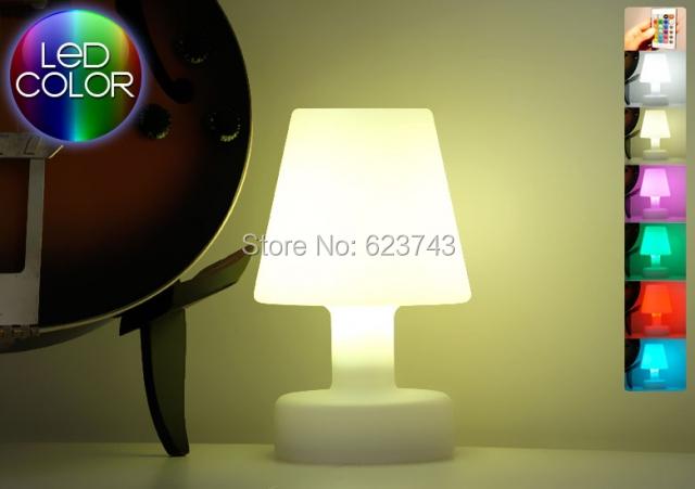 SLONGLIGHT remote control cordless LEDmood light table lamp Rechargeable, Waterproof Table light Break-resistant <br><br>Aliexpress