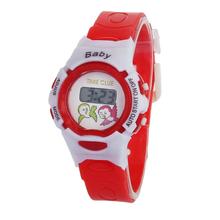 Cute Cartoon Unisex Children Kid Sports Bendable Rubber Strap Quartz Wrist Watch Free Shipping Digital relogio