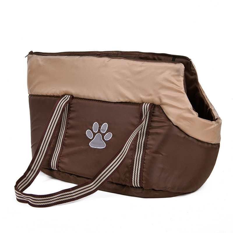 Free Shipping Dog Cat Bag Leisure Soild Pet Carrier Pattern Paw Prints Suitable Small/Middle Dog Puppy Pet Product Wholesale(China (Mainland))
