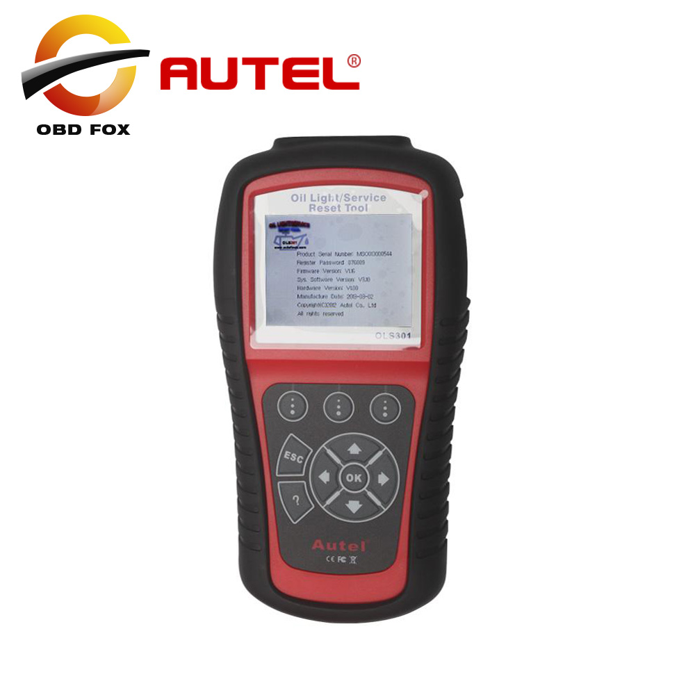 Autel MaxiService OLS301 Oil Light Service Reset Tool Auto scanner OLS 301 Free Internet Update for 1 year free shipping(China (Mainland))