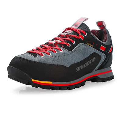 2015 New Fashion Style Leather Waterproof Hiking Shoes Men Boot New Outdoor Fun & Sports Mountain Trekking Shoes Hunting Boots(China (Mainland))