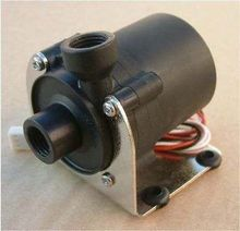 DC 12V 1.2A 14W Pump Water Cooler Motors Speed Line No Brushless 3-pin Plug 600L(China (Mainland))
