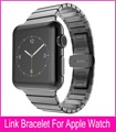 TOP Quality Link Bracelet For HOCO Apple Watch Band 42mm Black Silver Gold Stainless Steel Watchbands