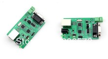 Free shipping  5PCS  A serial port to network modules RS232 RS485 to Ethernet A serial port server modules(China (Mainland))