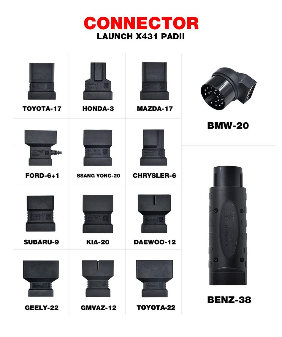 Launch X431 PAD II (8)
