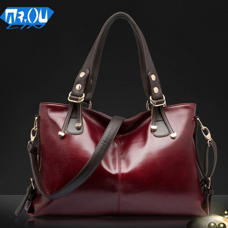 2015 autumn/winter leather handbag designer handbags The fashion leisure shoulder bag ruffles women messenger bag lady bag O1037(China (Mainland))