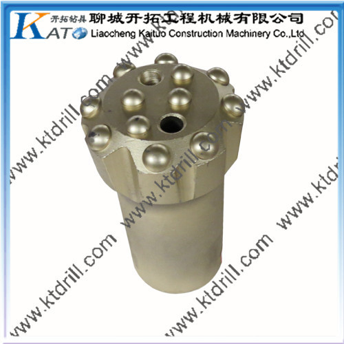 76mm T38 Threaded rock drilling tool button bit(China (Mainland))