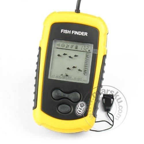 portable sonar sensor fish finder alarm transducer инструкция на русском