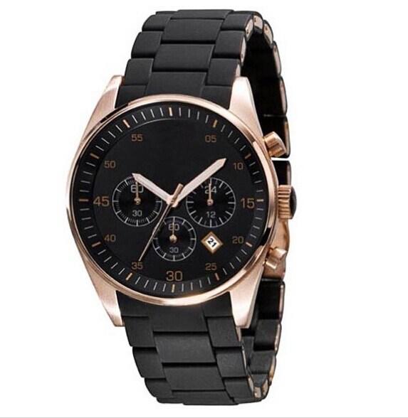 Free Shipping New Brand AR5905 AR5890 AR5919 Fashion Luxury Watches Mens CHRONOGRAPH WRIST WATCH(China (Mainland))