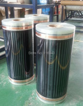 50 Sqare meter floor Heating film (No accessories), AC220V  electric heating film 50cm x 20m, electric floor heating system