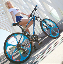 Colorful  Mountain bicycle, 26 inch 21 Speed Mountain Bike Bicycle,Youth fashion one round mountain bike
