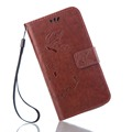 Fashion Case For LG G4 G5 Case Card Holder For LG G3 G4 Mini Flip Cover