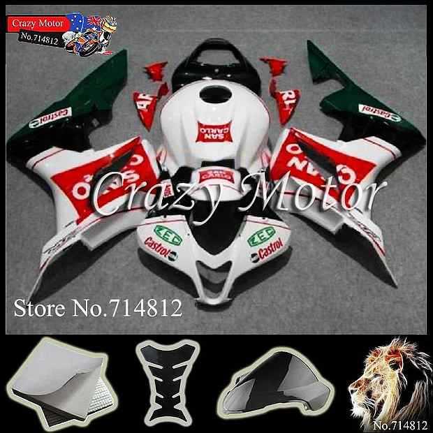 * CBR600RR 2007 2008 INJ 2007-2008 Fairings INJECTION MOLD Body Kit Fairing Honda CBR 600 RR AU - Crazy Motor store
