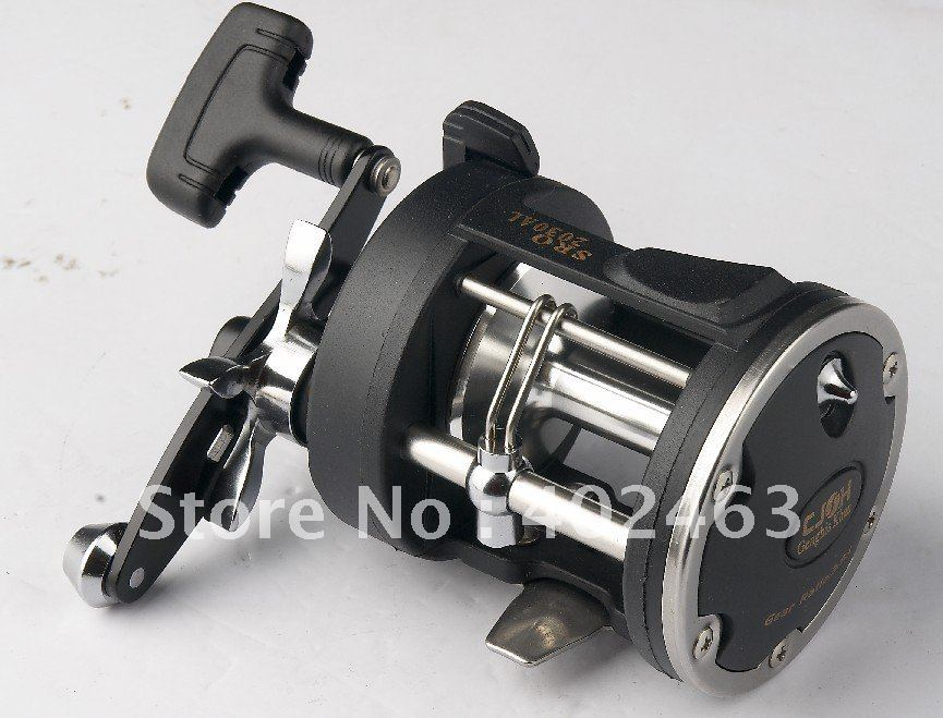 Fishing supplies Trolling Fishing Reels SRO 2030AL 3 ball bearings China Post Air Mail Or Ups Saver(China (Mainland))