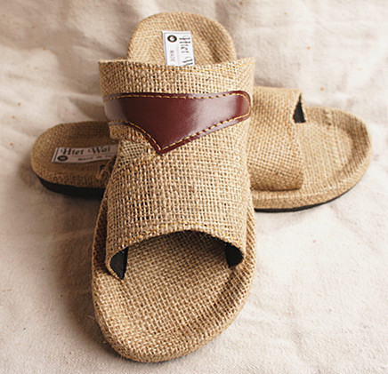 2014 summer men's hemp sandals slippers,brand designer national flip flop plus size 39-47