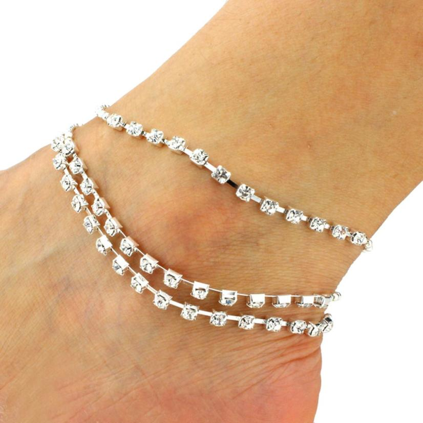 JU 23 Fairy Store 2016 Hot Selling Tassel Bells Anklets(China (Mainland))