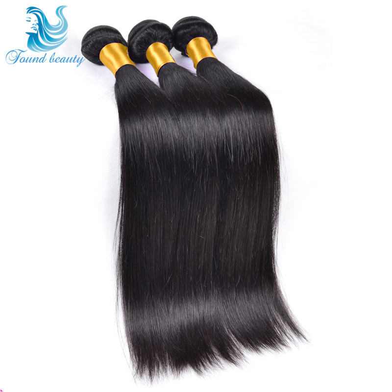 Rosa Hair Products Brazilian Virgin Hair Straight,7A Unprocessed Brazilian Straight Hair Extension Human Hair Weave