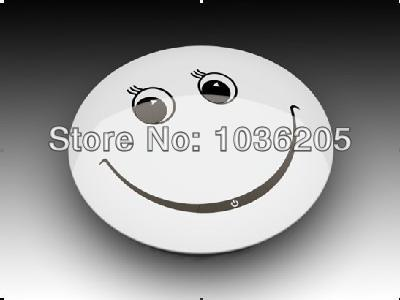 New cute smiley face MINI MP3 music Player Free shipping(China (Mainland))