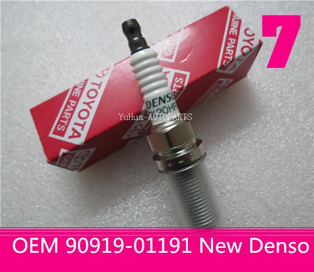 set(8) Denso Spark Plug for Toyota Tundra V8 2007-2014 OEM 90919-01191 SK20HR11(China (Mainland))