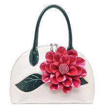2017 новое прибытие оболочки мешок цветок сумки japanned кожа женская сумка женская сумка()
