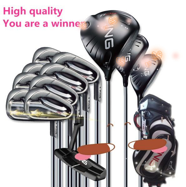 2015 Free shipping New Golf clubs G25 complete set of golf clubs with graphite shaft and bag brand men golf full set clubs(China (Mainland))