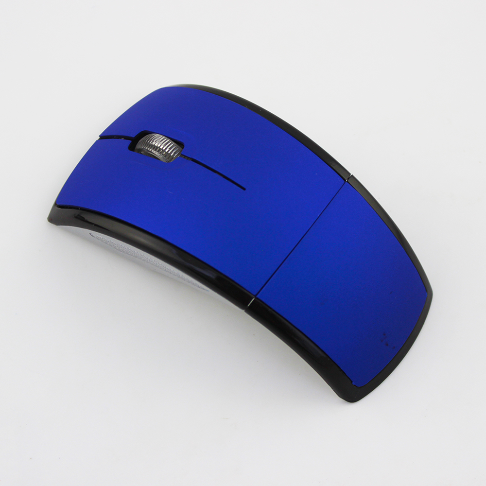 8 Multicolor blue HOT 2.4G wireless computer mouse souris gaming mice for home use and office PC laptop foldable mouse(China (Mainland))