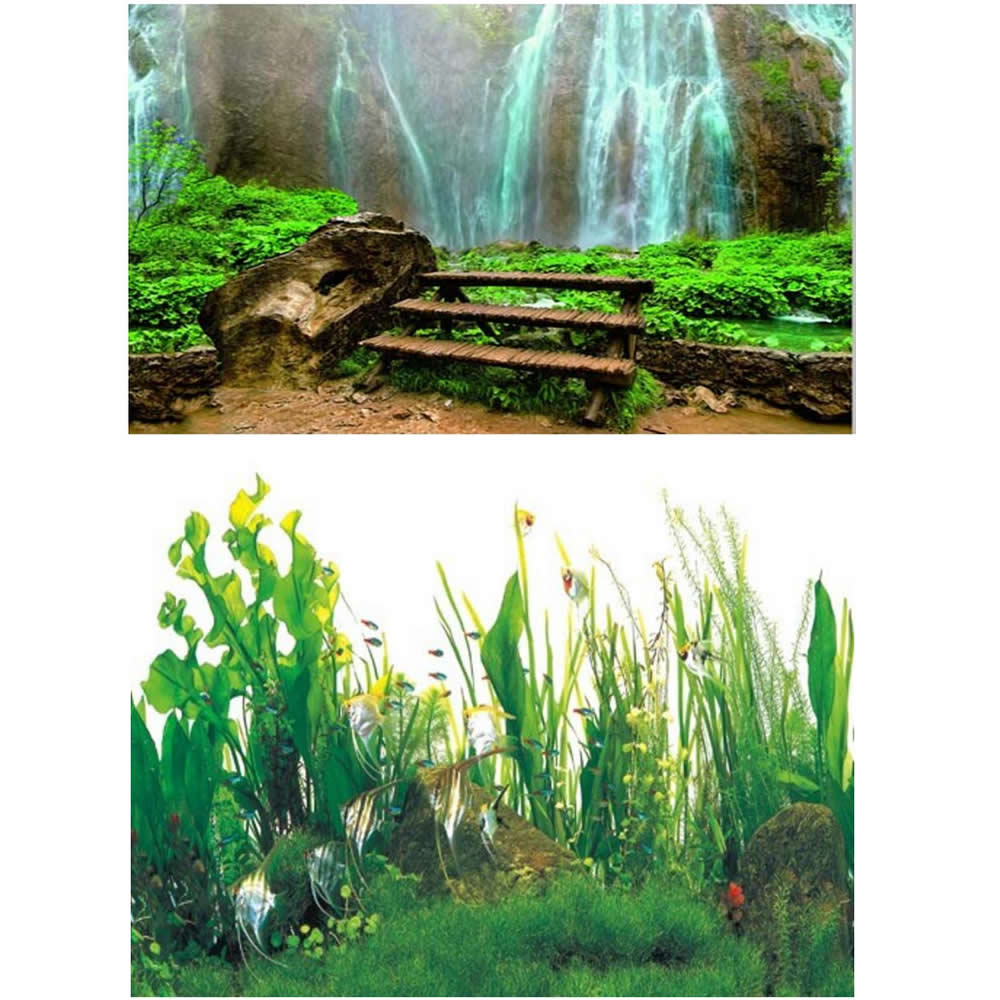 Popular planted aquarium pictures buy cheap planted for Aquarium waterfall decoration