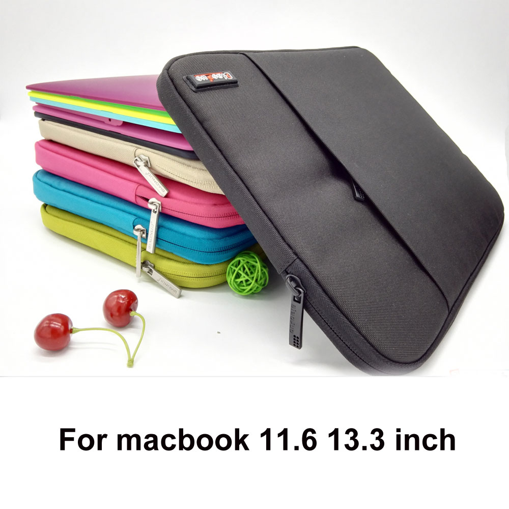 HOT Neoprene Ultrabook notebook Laptop Sleeve bag case for apple mac book Pro 13/Retina13 air 13 11 inch protector for macbook(China (Mainland))