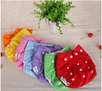 Baby Diaper Washable Reusable nappies changing Grid/Cotton training pant happy cloth diaper sassy fraldas Winter Summer Version(China (Mainland))