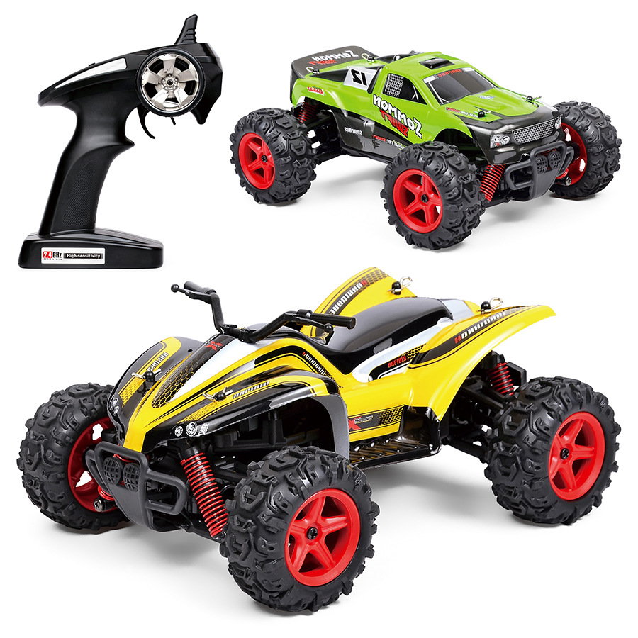 1:24 High speed radio-controlled-model-cars 4wd rc car remote control off-road vehicle rc drift cars monster truck(China (Mainland))