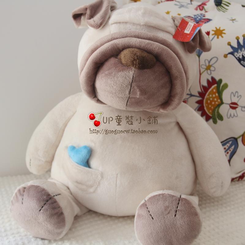 Shar Pei dog bone Genuine NICI plush toy doll(China (Mainland))