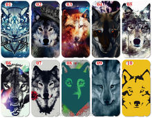 2016 Animal Wolf Shell Cell Phone Cover iphone 5 5S SE 5C 6 6S Samsung Galaxy A3 A5 A7 A8 E5 E7 J1 J2 J3 J5 J7 Case - Custom and Retail Store store