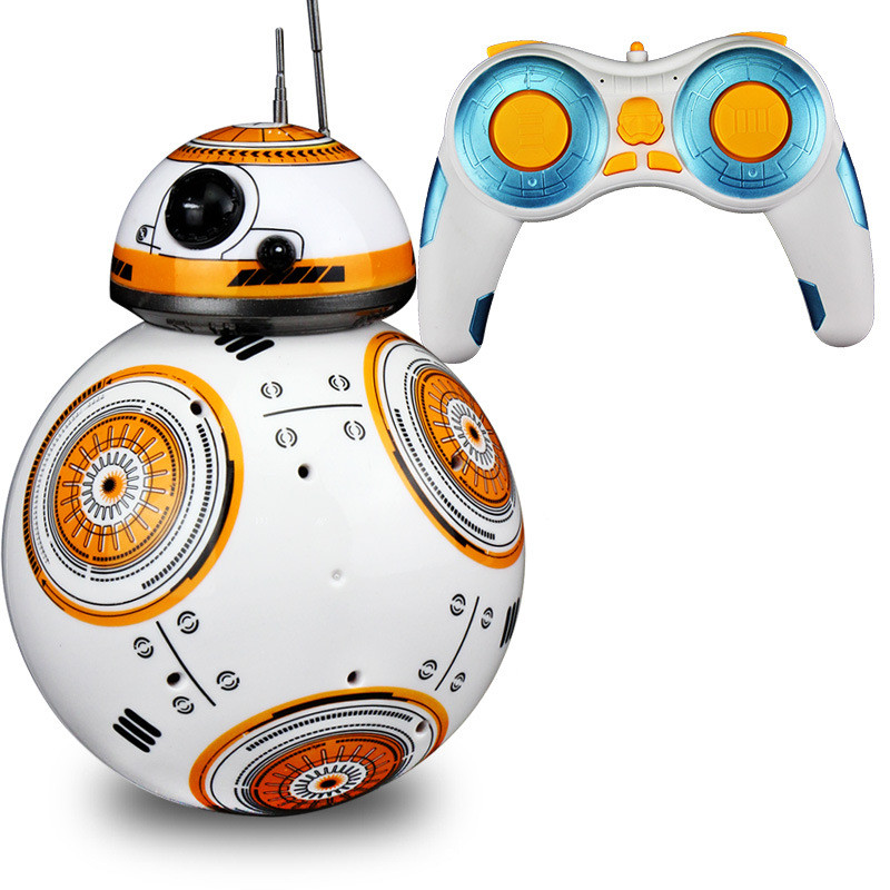 In-stock Star Wars RC BB-8 Robot Star Wars 2.4G remote control BB8 robot intelligent small ball + Original Box(China (Mainland))